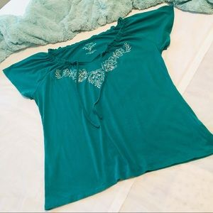 Sonoma Tops - Sonoma Blouse Green - PM